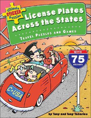 License Plates Across The States By Tallarico, Tonly/ Eagle, Cameron (ILT)